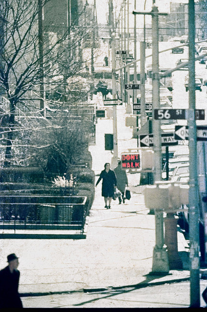 1975 Brooklyn - Boro Park - 56, 57, 58st & 13th Ave 400mm Lens GAF 200ASA