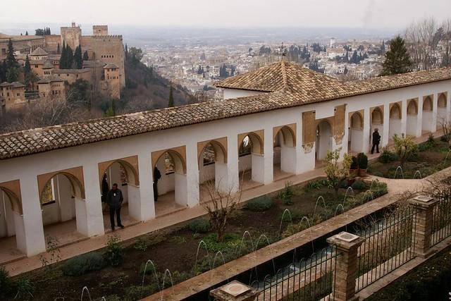 Generalife, Alhambra and Granada