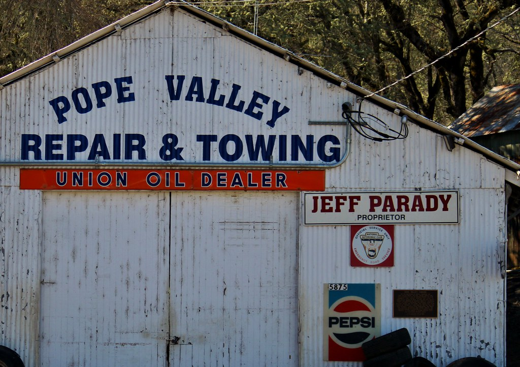 Pope Valley Repair & Towing