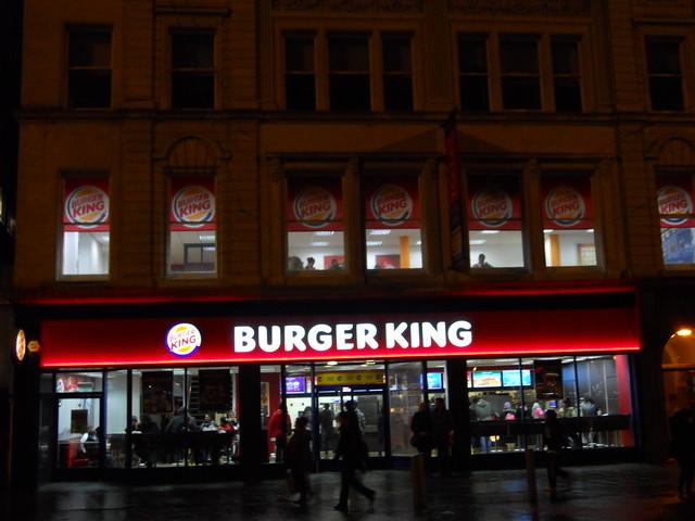 Burger King, Manchester