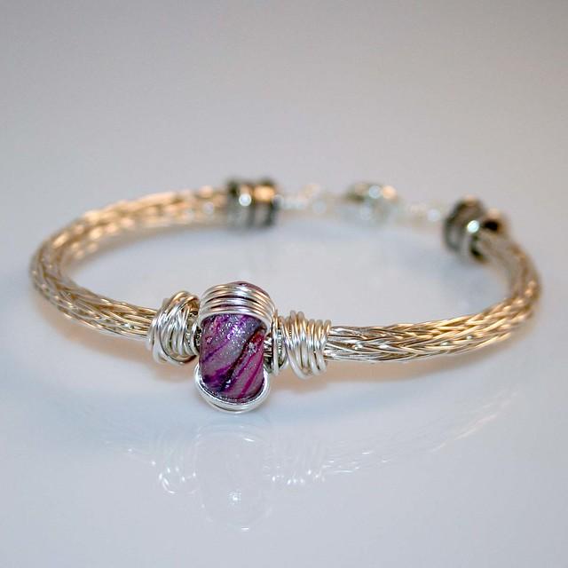 Viking Knit Bracelet Flickr Photo Sharing