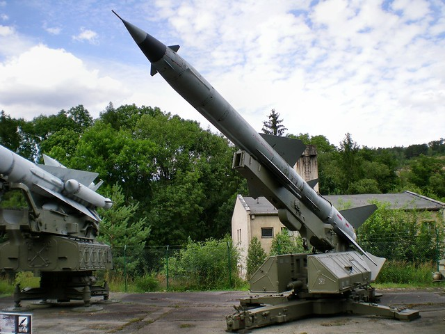S-75 Dvina anti-aircraft missile system