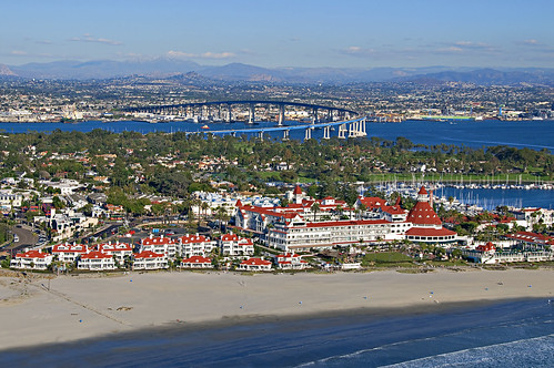 Hotel del Coronado Aerial View