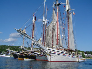 Boothbay Harbor Windjammer Days