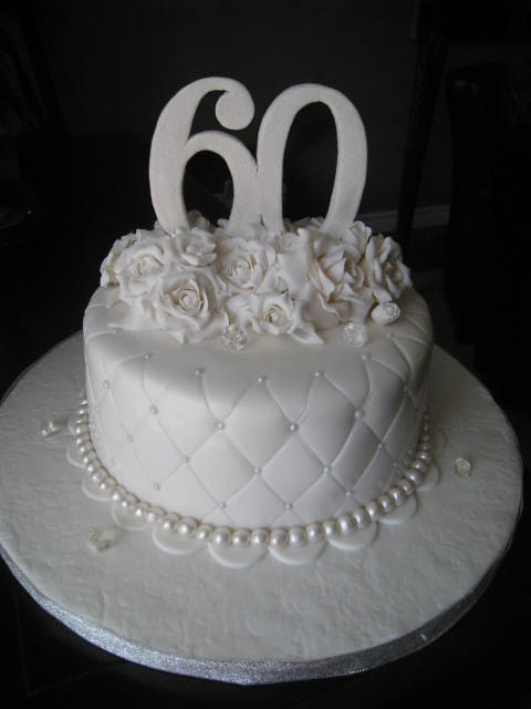 60th anniversary cake flickr photo sharing - Th anniversary cake decorations ...