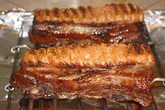 spare ribs, roasting, grilling, ribs, meat, food, dish, cuisine,