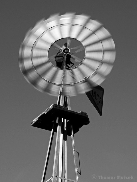 Windmill, San Mateo, California, 2009