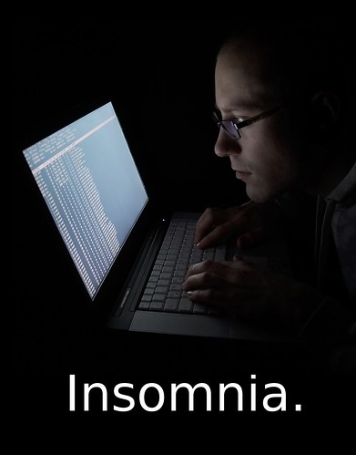 chronic insomnia Insomnia is trouble falling asleep, staying asleep through the night, or waking up too early in the morning episodes of insomnia may come and go or be long-lasting.