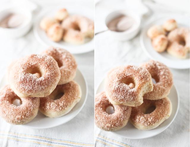 cinnamon sugar doughnuts, baked. | Flickr - Photo Sharing!