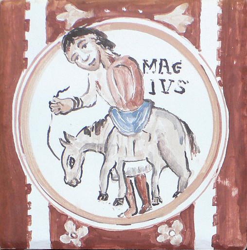 Mes de mayo en el calendario medieval / Foto: vicenteaparici1938 (Flickr CC)