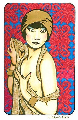 gold Anna May Wong