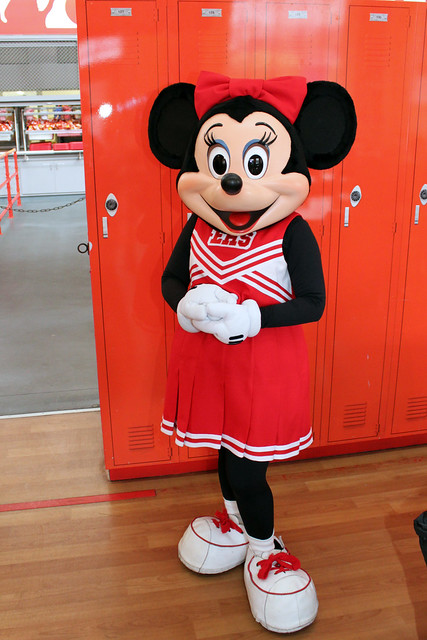 Meeting High School Musical Minnie Mouse