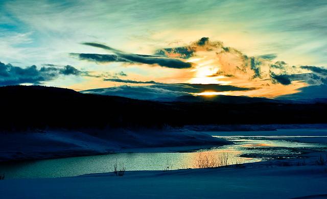 Stupendous sunset