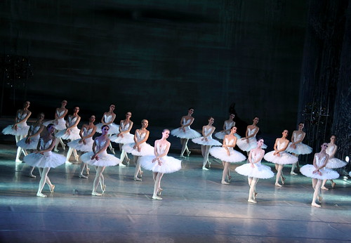 Performance of Swan Lake at Lviv Opera House