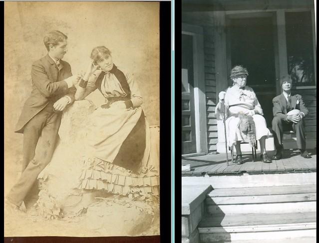 Emily and Fred Jencks  circa 1890   n  1940