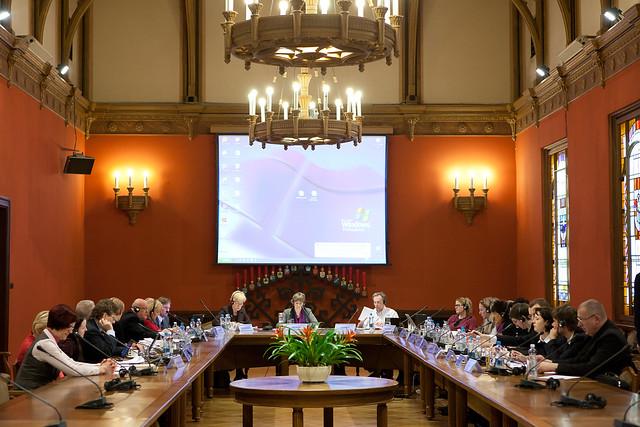 Baltijas jūras valstu parlamentārās konferences darba grupas sēdē