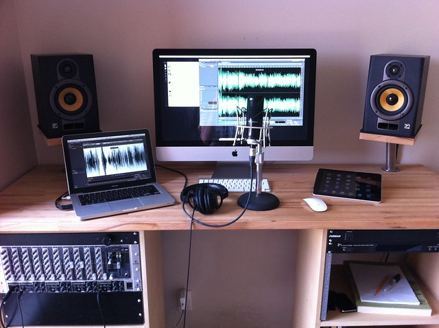 My desk/studio
