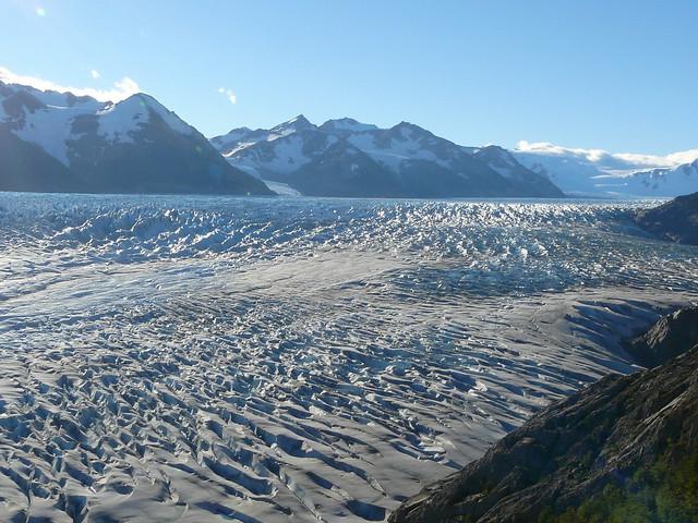 Une partie du Glaciar Grey