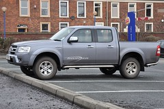automobile, automotive exterior, pickup truck, vehicle, truck, ford ranger, bumper, land vehicle,