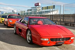 ferrari 348(0.0), ferrari testarossa(0.0), race car(1.0), automobile(1.0), automotive exterior(1.0), vehicle(1.0), performance car(1.0), automotive design(1.0), ferrari f355(1.0), ferrari s.p.a.(1.0), land vehicle(1.0), luxury vehicle(1.0), supercar(1.0), sports car(1.0),