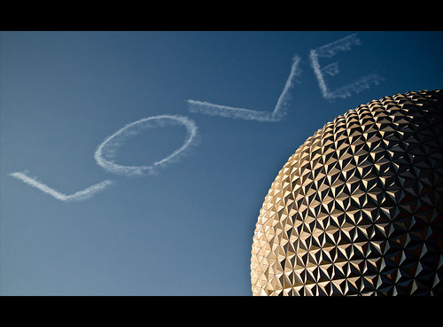 The 'LOVE' of EPCOT