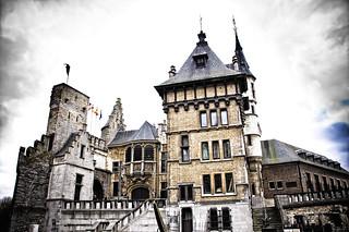 Image of Het Steen near Antwerpen. contrast photography high nikon belgium d victor het antwerp 90 antwerpen steen bergmann vicbergmann