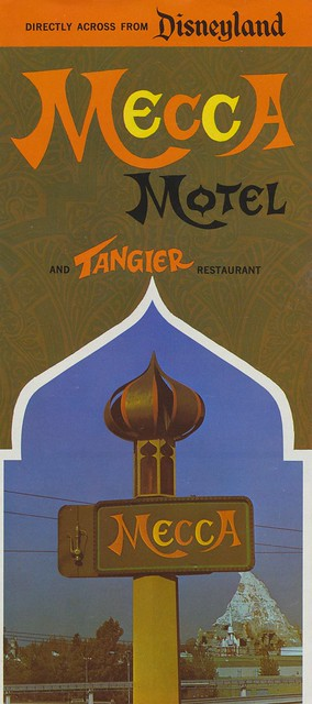 Mecca Motel and Tangier Restaurant - Anaheim, California