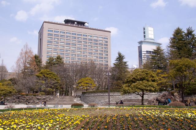 Photo:仙台の街中にある勾当台公園。のどか。 By NATSUKADO