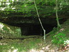Gated bat hibernaculum