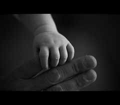 Hands.....My daughter and me.          {EXPLORE}