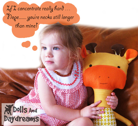 Bunny Rabbit PDF Sewing Pattern Stuffed Toy by DollsAndDaydreams
