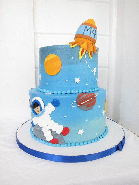 Space Decorated Cakes