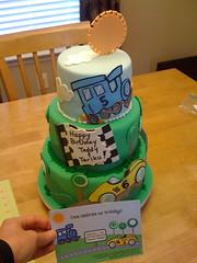 party(0.0), cake(1.0), buttercream(1.0), fondant(1.0), baked goods(1.0), sugar paste(1.0), food(1.0), cake decorating(1.0), icing(1.0), birthday cake(1.0),