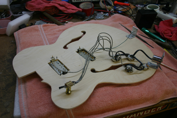 [SCHEMATICS_44OR]  Pics of Modified Archtops - Gibson Custom - Gibson Brands Forums | Archtop Wiring Diagram |  | Gibson Forums