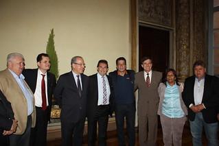 Visita à Embaixada Brasileira na Itália