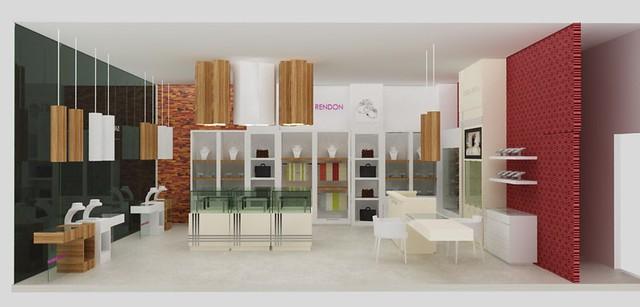 Diseño de Tienda para Joyas. Diseño de Muebles. Diseño ...