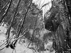 Valle delle Prigioni in inverno