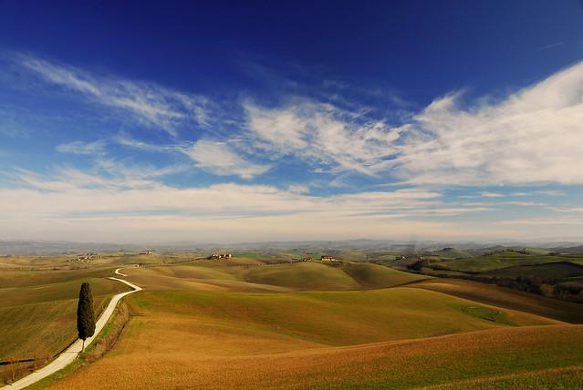 Tuscan Landscape - Paesaggio Senese - Tuscany