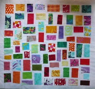 ticker tape mini quilt, do you like it?