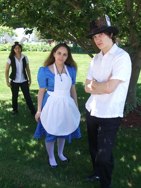 Header of Alice's Adventures in Wonderland
