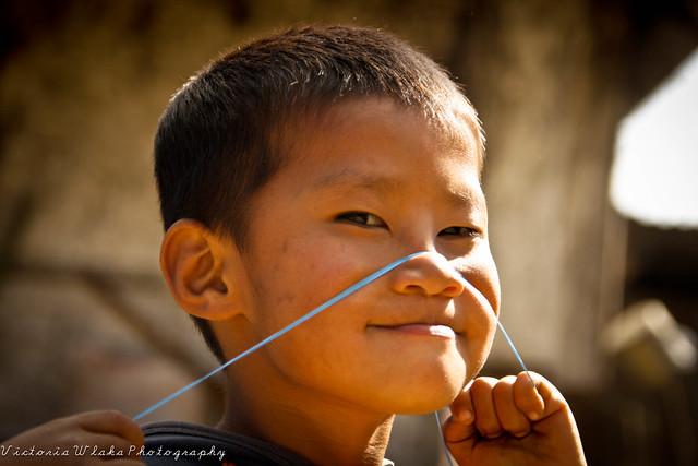 Funny Mopungchukit Kid