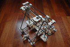 RepRap Huxley frame with axes