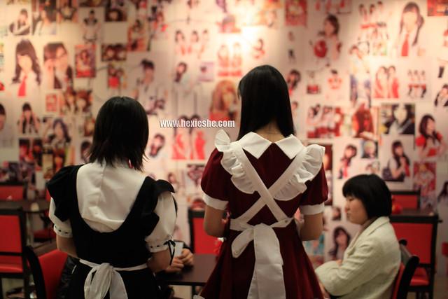 新尚数码广场Luna女仆咖啡屋_和邪社24