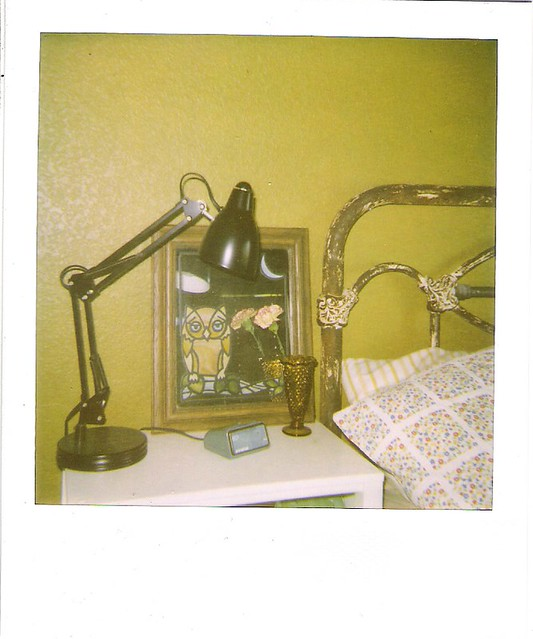 nightstand polaroid.