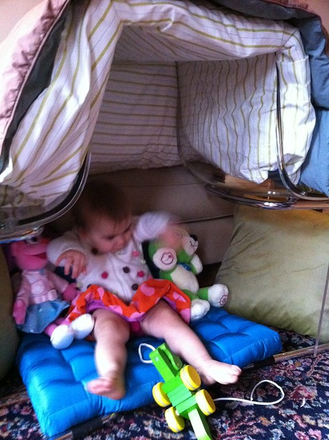Friends in my fort