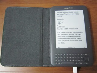Kindle Reading Light Cover