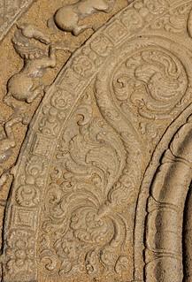 Moonstone Detail, Polonnaruwa, Sri Lanka