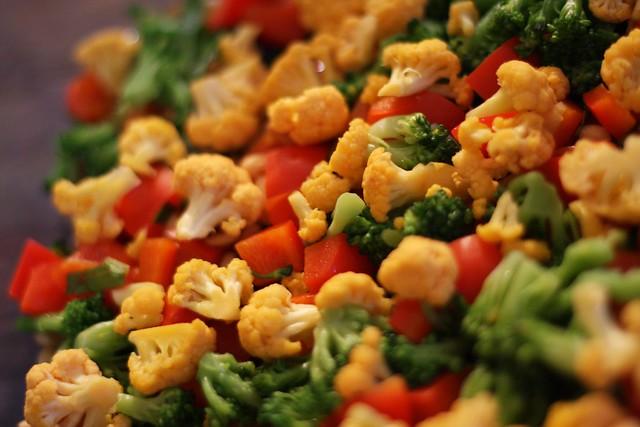 Vegetables | Triple Veg Pasta Bake Cheddar Cauliflower, Bro ...