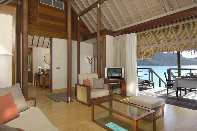InterContinental Bora Bora Resort & Thalasso Spa's overwater villa