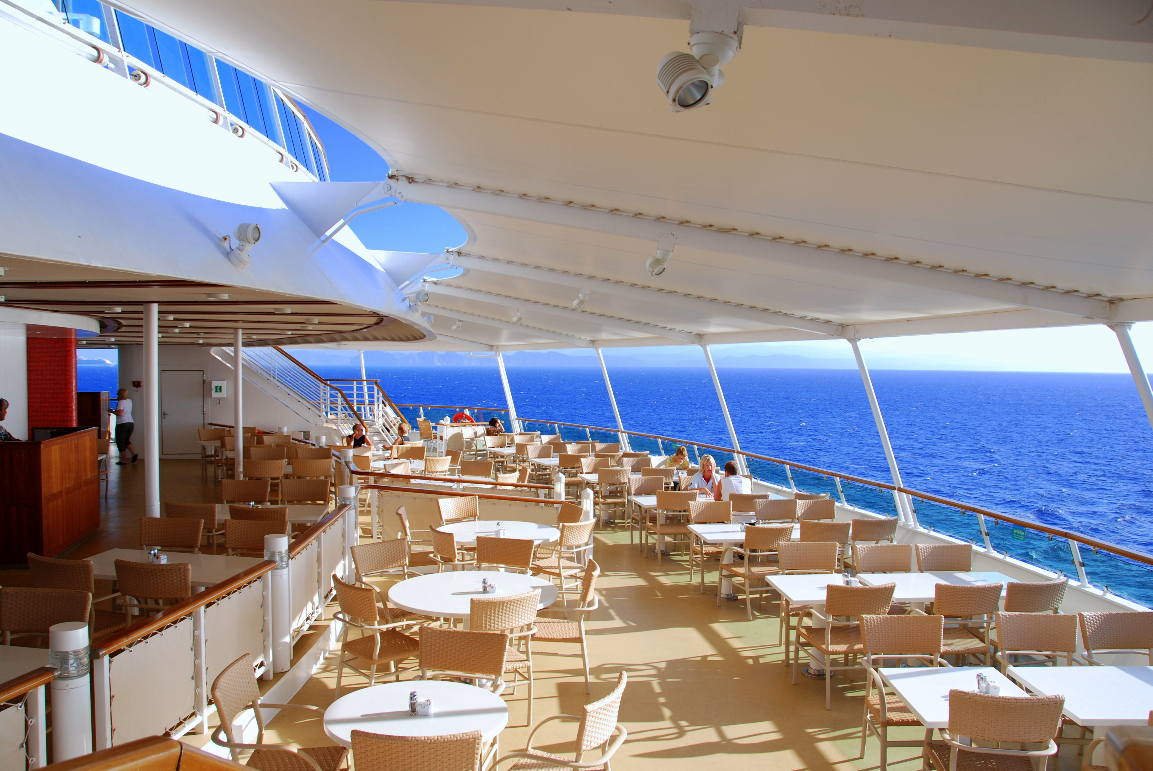 Breakfast Deck Brilliance Of The Seas Flickr Photo